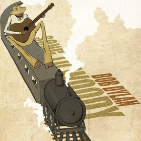 Tribute to Bob Dylan (digital illustration)